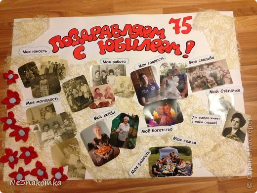 Стенгазета на юбилей 50 лет своими руками фото